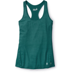 Smartwool Merino 150 Pattern Baselayer Tank Dame jungle green